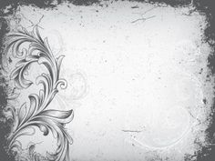 Wedding Templates Vintage Floral Frame Powerpoint Template Is A Free Background Design