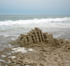 Sand Castle by Calvin Seibert: Thanks to @stevenm ! #Archtiecture #Sand_Castle