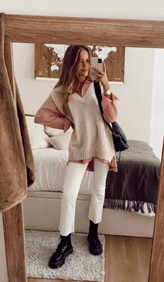 Winter Fashion Outfits, Fall Winter Outfits, Look Fashion, Autumn Fashion, Street Style Outfits, Mode Outfits, Mode Inspiration, Looks Style, Cute Casual Outfits