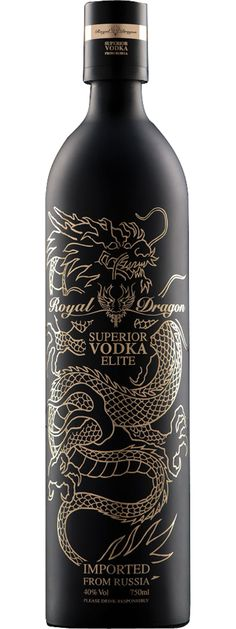 Royal Dragon vodka #royaldragonvodka #vodka #bottle