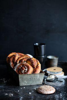Gingerbread Cinnamon Buns Recipe