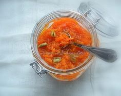 Turmeric and Saffron: Moraba-ye Haveej - Persian Carrot Jam