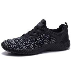 Coodo Cd9002 Men s Lightweight Fashion Sneakers Casual Sport Shoes  Black black-12 Black Running 1d569345af5