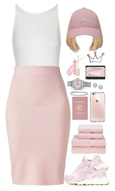 """TLC"" by oh-aurora ❤ liked on Polyvore featuring Christy, Topshop, NIKE, Winser London, Rolex, NARS Cosmetics, adidas Golf, Stila, Mark Broumand and Blue Nile"