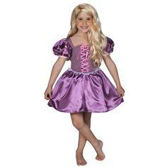 Déguisement Princesse Raiponce : Robe courte : 3/5 ans - Cesar-F032-001