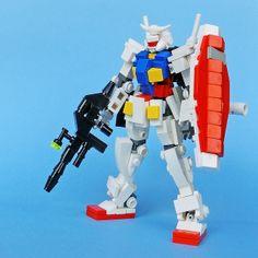 LEGO Gundam RX-78-2 | Flickr - Photo Sharing!