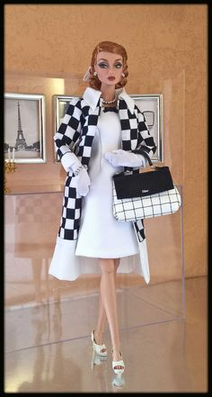 """""""Love Fashion"""" OOAK Fashion on FR Poppy Parker    2017 Collection -- * Checkmate* -- Series"""