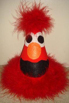 Elmo party hat