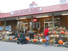 Wood Orchard Market in Door County, Wisconsin. Don't leave without Honeycrisp apples, their cider donuts and cherry strudel. Stuff To Do, Things To Do, Places To Travel, Places To Go, Wisconsin Vacation, Door County Wisconsin, New England, The Good Place, Doors