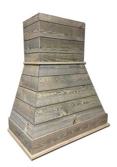 One of today s most popular interior design trends is the use of rustic shiplap. Castlewood s SY-WCSLR-LG Light Gray Rustic Shiplap Range Hood employs the shipl Kitchen Hoods, New Kitchen Cabinets, Kitchen Vent, Rustic Cabinets, Kitchen Sinks, Kitchen Backsplash, Kitchen Countertops, Kitchen Island, Layout Design