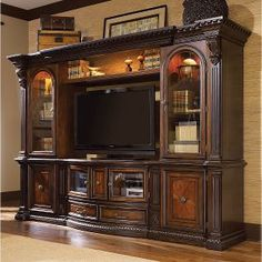 Tv entertainment wall ideas entertainment wall units wall unit entertainment center units for living room design Black Entertainment Centers, Entertainment Center Wall Unit, Entertainment Room, Wall Unit Decor, Room Decor, Media Wall Unit, Fairmont Designs, Poster Design, The Unit