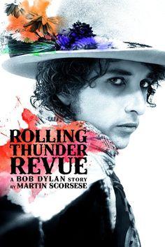 """Rolling Thunder Revue: Martin Scorsese na turné s Bobem Dylanem Tento dokument zachycuje """"problémového ducha"""" Ameriky v roce 1975 a radostnou hudbu, kterou Bod Dylan odehrál během podzimu tohoto roku. Martin Scorsese, Bob Dylan Art, Bob Dylan Poster, Joan Baez, Netflix Streaming, Streaming Vf, New Movies, Movies Online, Spiritism"""
