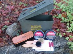 Ammo Can Shoe Shine Kit image