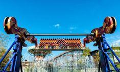 Amusement park in Helsinki Amusement Park, Helsinki, Fair Grounds, Louvre, Building, Travel, Viajes, Buildings, Destinations