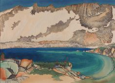 Lake Basin in the High Sierra by Chiura Obata / American Art