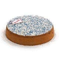 Deze heerlijke geboortetaart in de vorm van een MEGA beschuit met muisjes kan natuurlijk overal in Nederland worden bezorgd. Je kunt deze taart nog persoonlijker maken door er een foto of een naam op te plaatsen. Een leuker en lekkerder geboortecadeautje bestaat niet! Gevuld met ingekookt fruit en verse slagroom. Voor 12 personen, vandaag besteld, morgen geleverd!