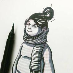 The Art of Bhairavi Kulkarni #inktober #sketch #characterdesign