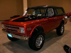 old Chevy Blazer