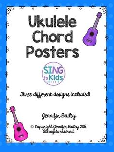 Rainbow ukulele teacher packet ukulele curriculum lesson plans are you looking for ukulele chord posters for your music classroom this resource includes 3 fandeluxe Images