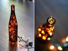 Labores en Red: Alzola Basque Water - reciclaje de botellas con luces by decoracion2 -
