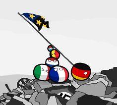 The Foundation (Europe) by Sock Finn   #polandball #countryball