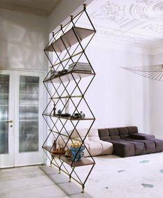 Image result for free standing shelf room divider