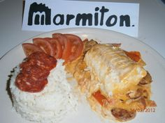 Recette de cuisine Marmiton Seafood Recipes, Beef, Chicken, Cooking, Ethnic Recipes, Comme, Bell Pepper, Seafood, Cooker Recipes