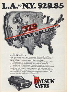 1973 Datsun 1200 Ad