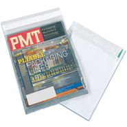QTY - 500 10x13 Clear View Poly Mailers feature a self-seal closure and are the perfect poly mailing envelops for mailing literature, catalogs and brochures. These clear view poly mailers, made of tear-resistant 3 mil polyethylene, have a clear front for viewing contents and an opaque back for address information and postage. Our clear view poly mailers are the ultimate in quality and lightweight for low cost postage. Custom Printing Available.