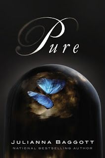 """She finds little moments of beauty everywhere - even in ugliness. The heaviness of the clouds draping across the sky, sometimes edged in dark blue. There's still dew that rises up from the ground and beads up on pieces of blackened glass."" ~ Pure by Julianna Baggott"