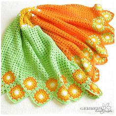 Chevron Crochet Baby Blanket Ripple Afghan for boys or girls - Granny Square - white yellow orange green MADE TO ORDER Chevron Crochet, Crochet Cross, Love Crochet, Crochet Granny, Crochet Patterns, Crochet Afghans, Baby Afghans, Blanket Patterns, Crochet Ideas