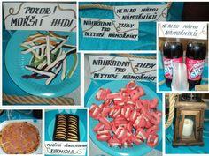 Námořnická párty - červen 2017 - ukončení a vyhodnocení celoroční hry Candy, Sweets, Candy Bars, Chocolates