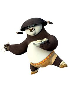 "PO From Kung Fu Panda | Po in ""Kung Fu Panda: Legends of Awesomeness"""