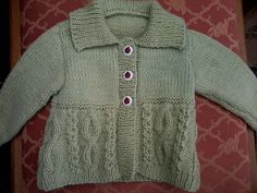Ravelry: Project Gallery for Design E - Cabled Cardigans pattern by Sirdar Spinning Ltd.
