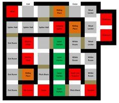 Maze layout idea from use Vicous on halloweenforum.com