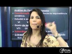 Português para Concursos   Período Composto e Introdução e Coordenação  ...
