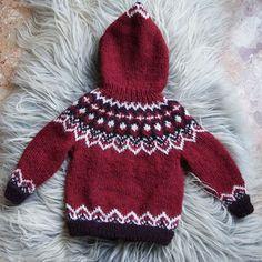 Baby Boy Knitting Patterns, Baby Sweater Patterns, Baby Sweater Knitting Pattern, Knitting For Kids, Motif Fair Isle, Norwegian Knitting, Knitted Baby Clothes, Crochet For Boys, Fair Isle Knitting