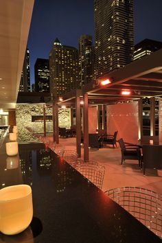 opulent design retractable roof. Prime Roof Lounge  The place to see and be seen outdoor patio lounge Halloween Under the Stars at III Forks Steakhouse Rooftop