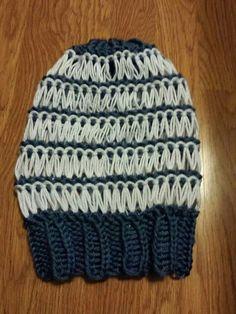 chapeau larges mailles 2