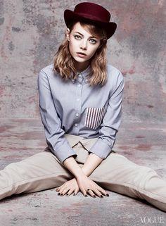 Emma Stone Vogue Cover