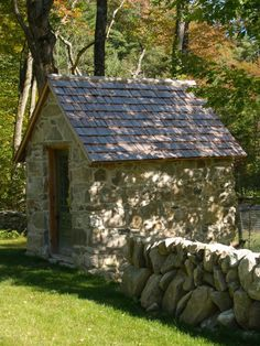 stone shed I LOVE THIS!!