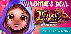 Grim Legends: The Forsaken Bride www.artifexmundi.com