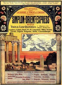 An Orient Express Poster.17