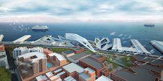 San Francisco International Cruise Terminal And Waterfront Development - eVolo | Architecture Magazine