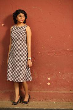 Kavaya Thuni Dress - B&W