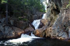 9. Smalls Falls, Franklin County, plus other swimming holes in Maine.