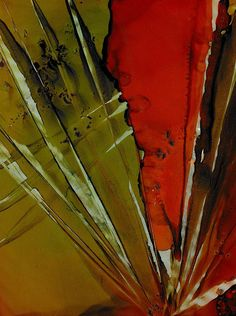 Yucca Inspired Painting by Louise Adams