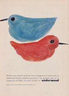 Underwood-Olivetti Portable Typewriters