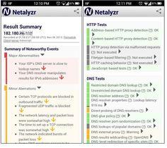 Analysez votre réseau sous #Android avec Netalyzr