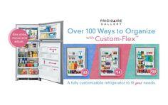 Enter to Win a Frigidaire Gallery Custom Flex Refrigerator Enter To Win, Christmas Wishes, Getting Organized, Bad Boys, Organization, Storage, Giveaways, Refrigerator, Cleaning